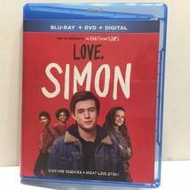 Love, Simon Movie Blu-Ray Disc Only (No DVD No Digital) - $3.95
