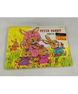 Peter Rabbit Pop Up Book Vintage Modern Promotions - $4.46