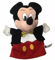 "Vintage Disney Mickey Mouse Hand Puppet 1993 Mattel 9"" - $20.74"