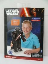 """Star Wars Blue aufdrücke Paper Craft Darth Vader 12"""" High posierbare Fig... - $8.31"""