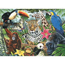 """Paint By Number Kit Artist Canvas Series 11""""X14""""-Zoo Montage - $14.71"""