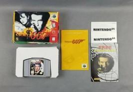 GoldenEye 007 by Rareware (Nintendo 64, N64, 1997) Complete with Manual ... - $44.54