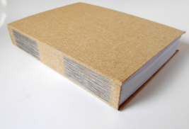 Fabric journal with 800 pages- А4 Large sketchbook journal- rustic blank... - $125.00