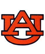 Auburn Tigers Logo Embroidered Iron On Patch. - $1.20