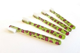 20PACK Vintage NEW Designer Toothbrush By Alan Stuart New York FUN Purple Cactus - $22.72