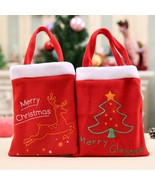 Christmas Gift Santa Bag Candy Xmas Bags Claus Party Decor Decoration Home - $4.99