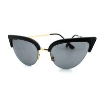 Womens High Fashion Sunglasses Bolded Top Super Cateye Shades - $7.95