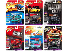 Johnny Lightning Street Freaks 2018 Release 4 Set B of 6 Cars 1/64 Diecast  - $56.42
