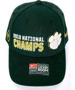 2018 National Champs Clemson Tigers College Football Men's Hat Adjustable - $26.27