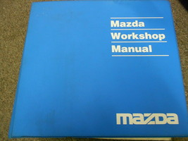 1995 Mazda MX-3 MX3 Service Repair Shop Workshop Manual OEM BOOK 95 1995 x - $69.26