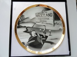 Porky Pig Welcome to Wackyland Warner Brothers Collector Plate 28 of 5000 - $24.99