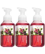 Bath & Body Works Wild Berry Garden Gentle Foaming Hand Soap 8.75 fl oz ... - $21.71
