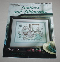 Sunlight and Silhouettes Leisure Arts 980 Cross Stitch Pattern Book 36 V... - $9.41