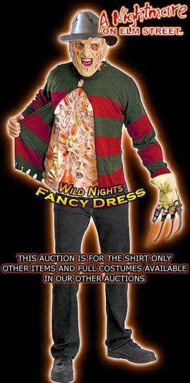 Nightmare On Elm Street Freddy Krueger Chest of Souls Adult Halloween Sweater