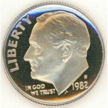 1982-S DCAM Proof Roosevelt Dime #0632 - $1.99