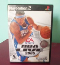 NBA Live 2005 PlayStation 2 Game - $6.30