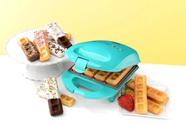 Belgian Waffle Maker Non Stick Cooking Baking Plates Kitchen Rubber Feet... - ₹1,614.42 INR