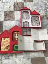 2 Hallmark Merry Christmas 24 ea CHRISTMAS CARD BOX SETS self sealing en... - $23.36