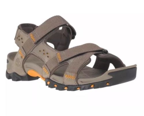 TIMBERLAND MEN'S ELDRIDGE LEATHER SANDALS STYLE 5824A065 SIZE:12