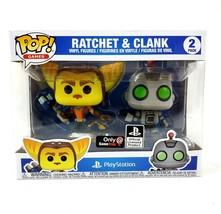 Ratchet and Clank 2-Pack Funko Pop Vinyl Figures Playstation Gamestop Ex... - $32.25