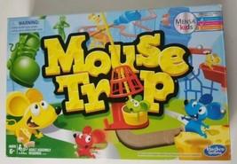 Mouse Trap Board Game 2016 Hasbro Mensa Kids  - $21.49
