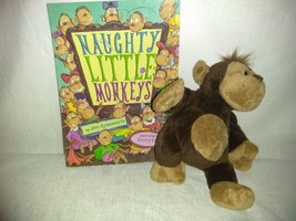 Monkey Lovers Children Gift Set, 11 inch George Monkey, Naughty Little M... - $12.25