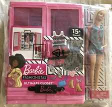 Barbie Fashionistas Ultimate Closet Doll and Accessories - $44.95