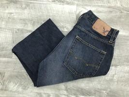 AMERICAN EAGLE Original Boot Classic Rise Blue Denim Jeans Men's Size W ... - $508,21 MXN