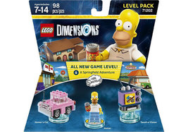 LEGO DIMENSIONS LEVEL PACK SIMPSONS  - Interactive Toys - (Brand New) - $34.46