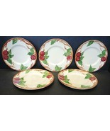 Five Vintage Franciscan Bread & Butter Plates - Apple Pattern - $23.74