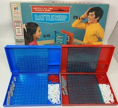 Vintage 1971 Battleship Board Game By Milton Bradley USA Made Complete - $28.04