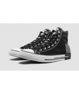 Converse CTAS Hi Seek Peace 165766F Black/White Multi Sizes NWB Unisex - $52.00