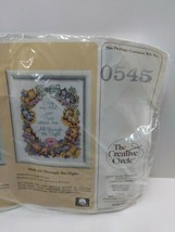 Vintage 1986 The Creative Circle 0545 All Through The Night Cross Stitch... - $22.53
