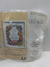 Vintage 1986 The Creative Circle 0545 All Through The Night Cross Stitch Kit - $22.53