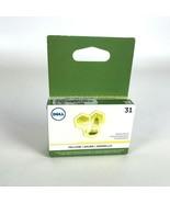 Lote de 5 Dell Serie 31 Cartucho Tinta Amarillo 3MH11 (V525w V725w) Orig... - $74.55