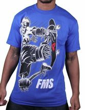 Famous Stars & Straps Death Wish Royal Blue or White Men's T-Shirt Blink 182 NWT image 5