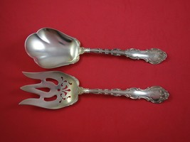 Strasbourg by Gorham Sterling Silver Salad Serving Set 2pc AS w/Applied Lacing - $709.00