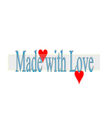 Made with Love-Jewelry Tag-Clipart-Art Clip-Gift Tag-Holiday-Digital Cli... - $1.99