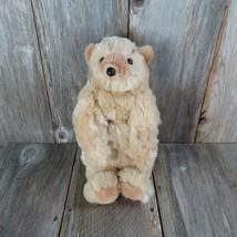 Vintage Bear Plush Puppet Folkmanis Folktails Stuffed Animal Full Body Lifelike - $123.74