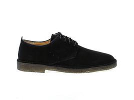 Lace-up shoes Clarks D L M SBL in black suede leather - Men's Shoes - $165.30