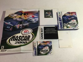NASCAR 2000 Nintendo Game Boy Color, 2000 CIB Complete Box Very Nice! - $14.01