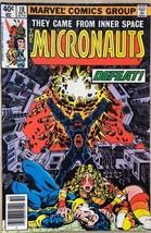 MICRONAUTS #10 (1979) Marvel Comics FINE- - $9.89