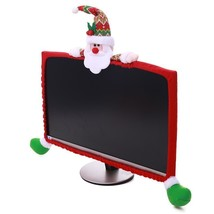 Christmas Decorations Computer TV Television Display Frame Cover Dust Pr... - €15,42 EUR