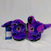 Monkey Slippers Toddler Girl Size 8//9 10//11 Puppet Pal Bootie New Box