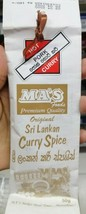 Ma's Kitchen Hot Sri Lankan Curry Spice Pork Hot Curry 50g - $6.68