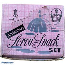 1950's Complete Serva Snack Set Of 4 Atomic Bubbles, Original Packaging - $12.59