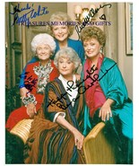 BETTY WHITE BEA AUTHUR RUE McCLANAHAN GETTY SIGNED 8X10RP PHOTO THE GOLD... - $19.79