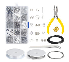 Jewelry Making Supplies Kit Jewelry Findings Jewelry Findings Starter Kit  - $17.99