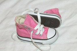 Converse All Star Infant Sneakers Size 3 pink Shoes - $14.85
