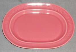 Metlox Colorstax PINK ROSE COLOR Oval Serving Platter MADE IN CALIFORNIA - $29.69